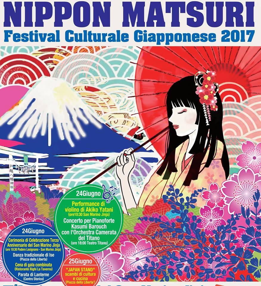 "II° Festival Culturale Giapponese ""NIPPON MATSURI"" a San Marino"