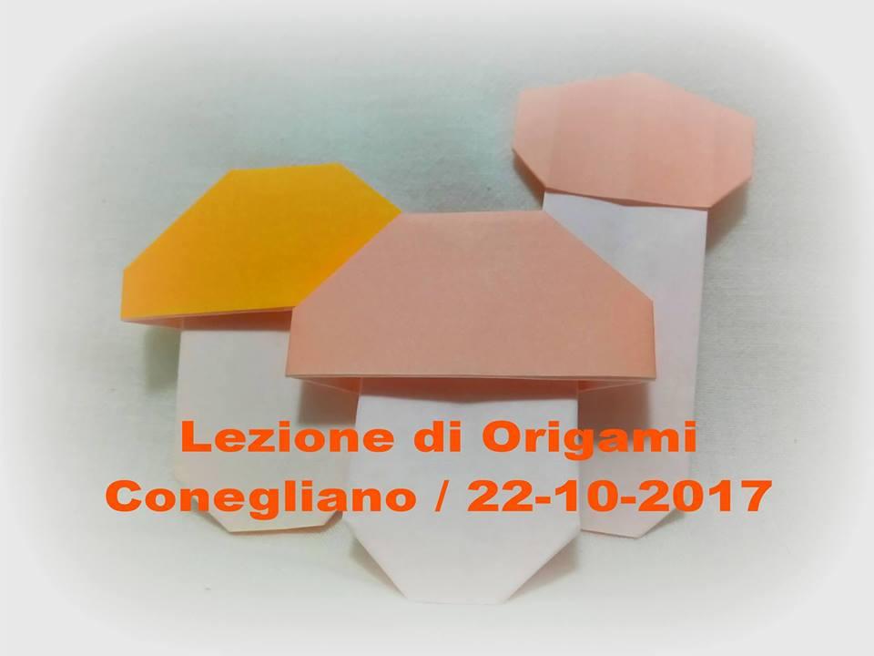 Lezione di Origami / 22-10-2017