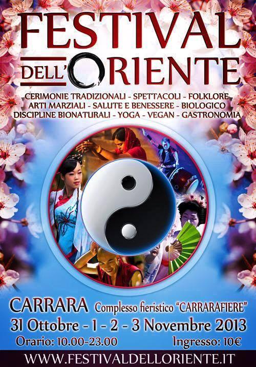 Festival dell'oriente 2013 Carrara