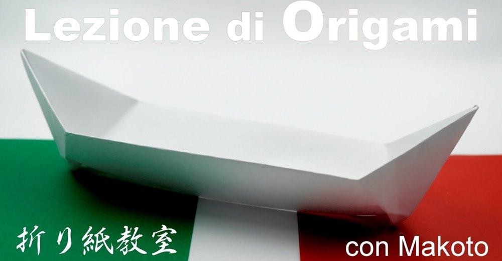 Workshop di origami con il maestro Makoto
