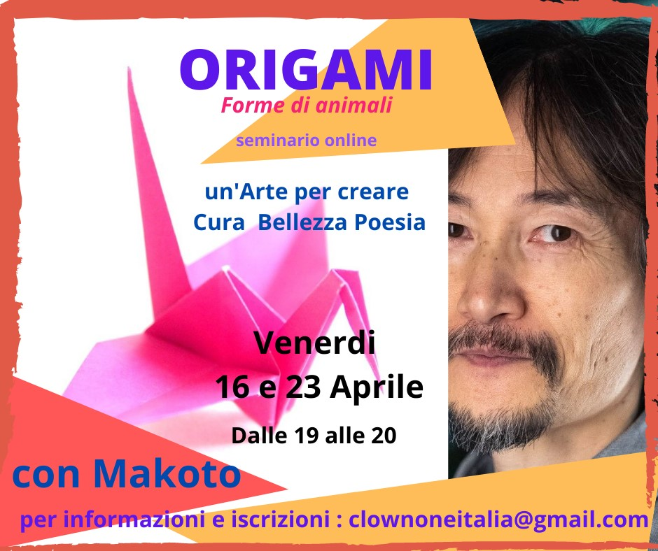 Lezione di ORIGAMI On Line 16 & 23 04 -2021